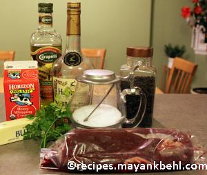 authentic steak-au-poivre recipe