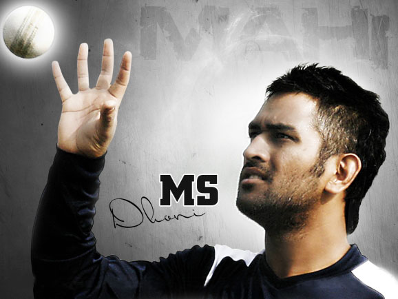 Ms dhoni latest hd wallpaper 2013 all cricket stars