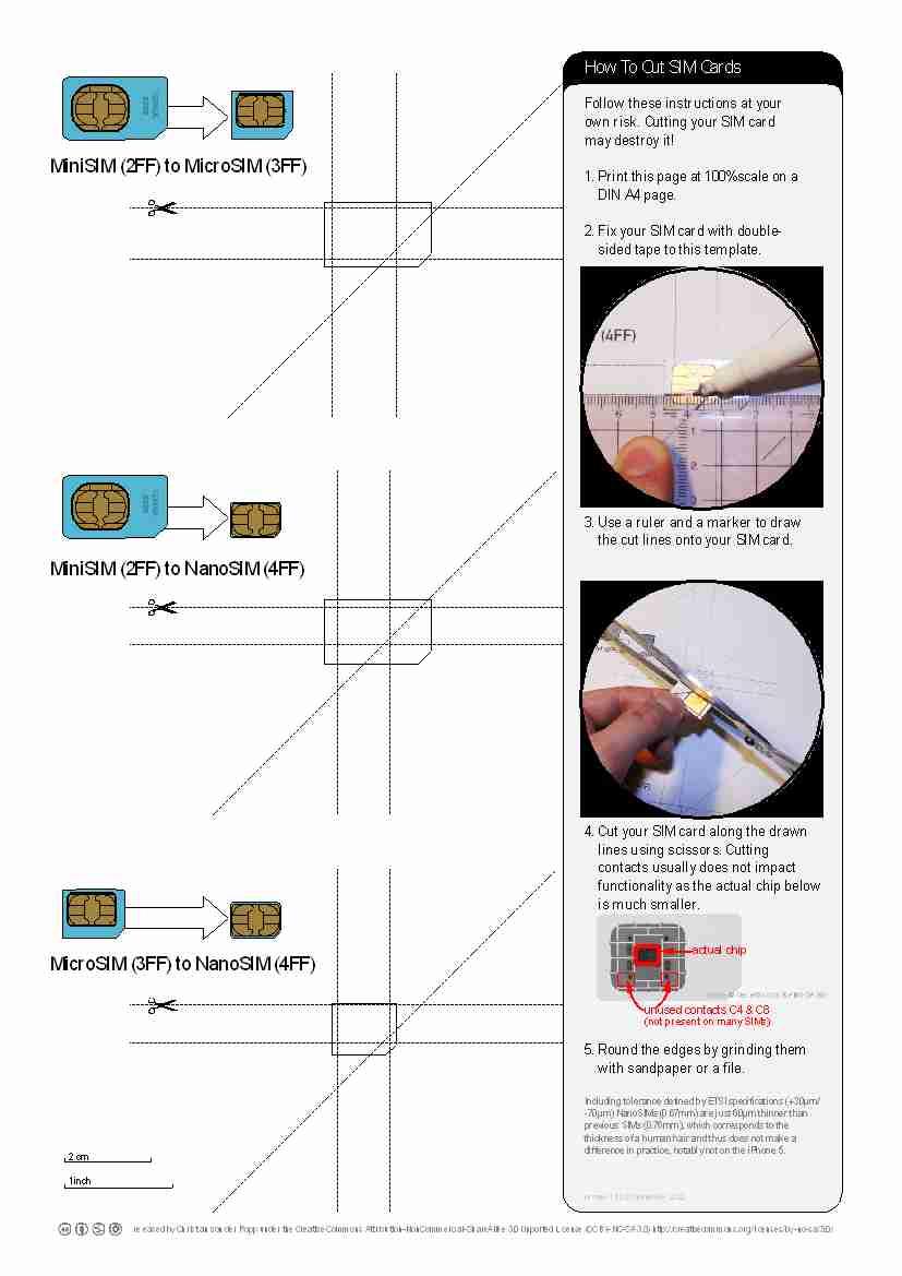 Tips : Micro SIM to iPhone 5 Nano SIM in five minutes