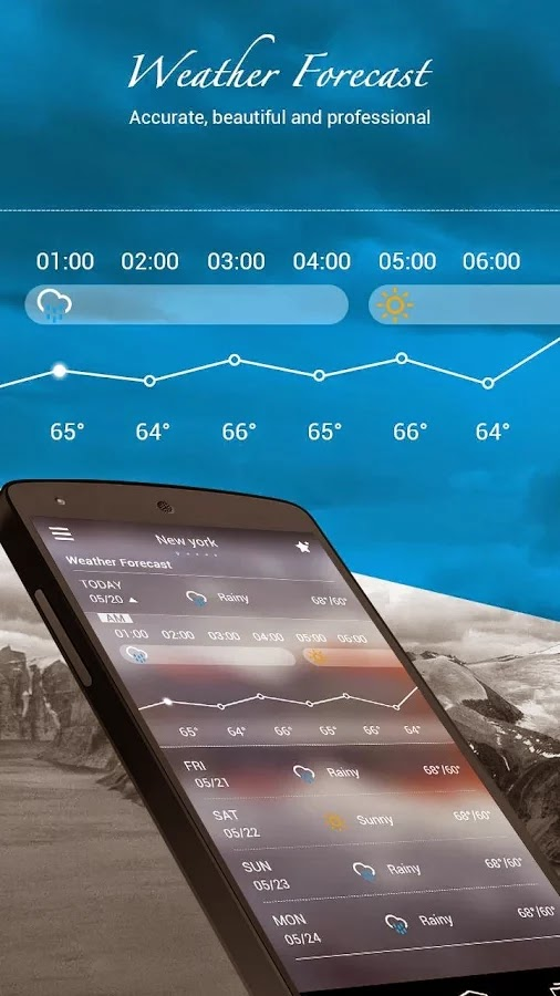 GO Weather Forecast & Widgets Premium v5.1
