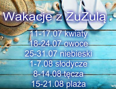 Projekt paznokciowy - Wakacje z ZuZulą