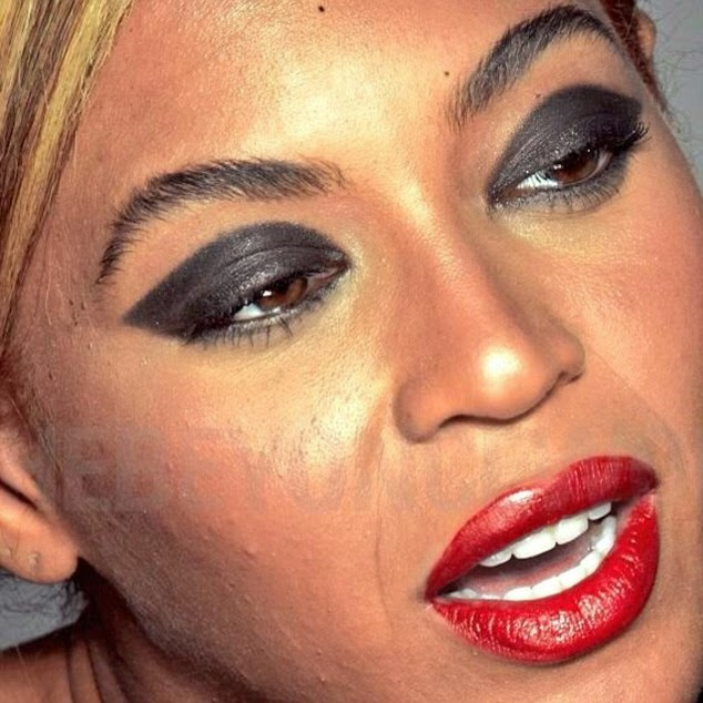 beyonce leaked pictures no makeup loreal