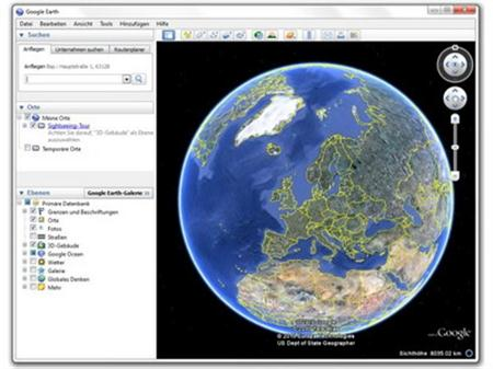 Download the latest version of Google Earth free in English on CCM