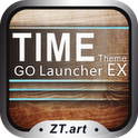 TIME v1.0 | GO Launcher EX Theme