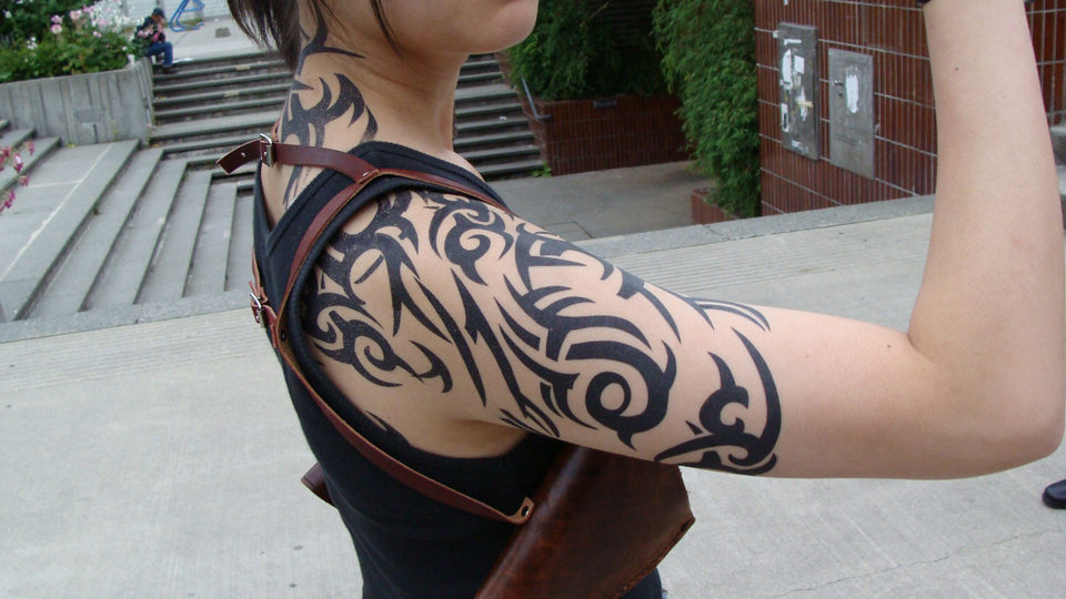 Tribal Shoulder Tattoos - 06