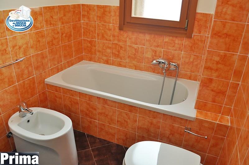 CAMBIO VASCA CON DOCCIA A FIRENZE  M.2 Trasformazione vasca in doccia e sistema Vasca nella Vasca