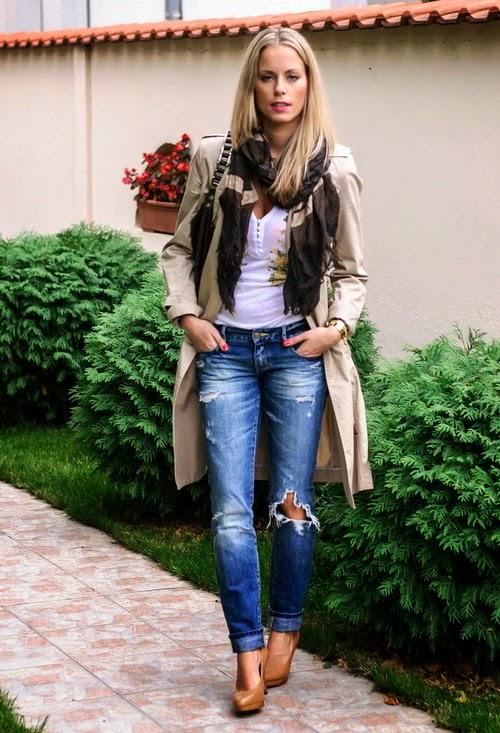 2014 Kot Pantolon Kombinleri Modelleri