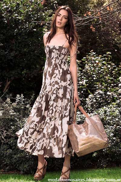 Vestidos 2013 moda verano argentina Awada