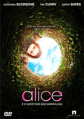 Filme Poster Alice e o Novo Pas das Maravilhas DVDRip XviD Dual Audio &amp; RMVB Dublado