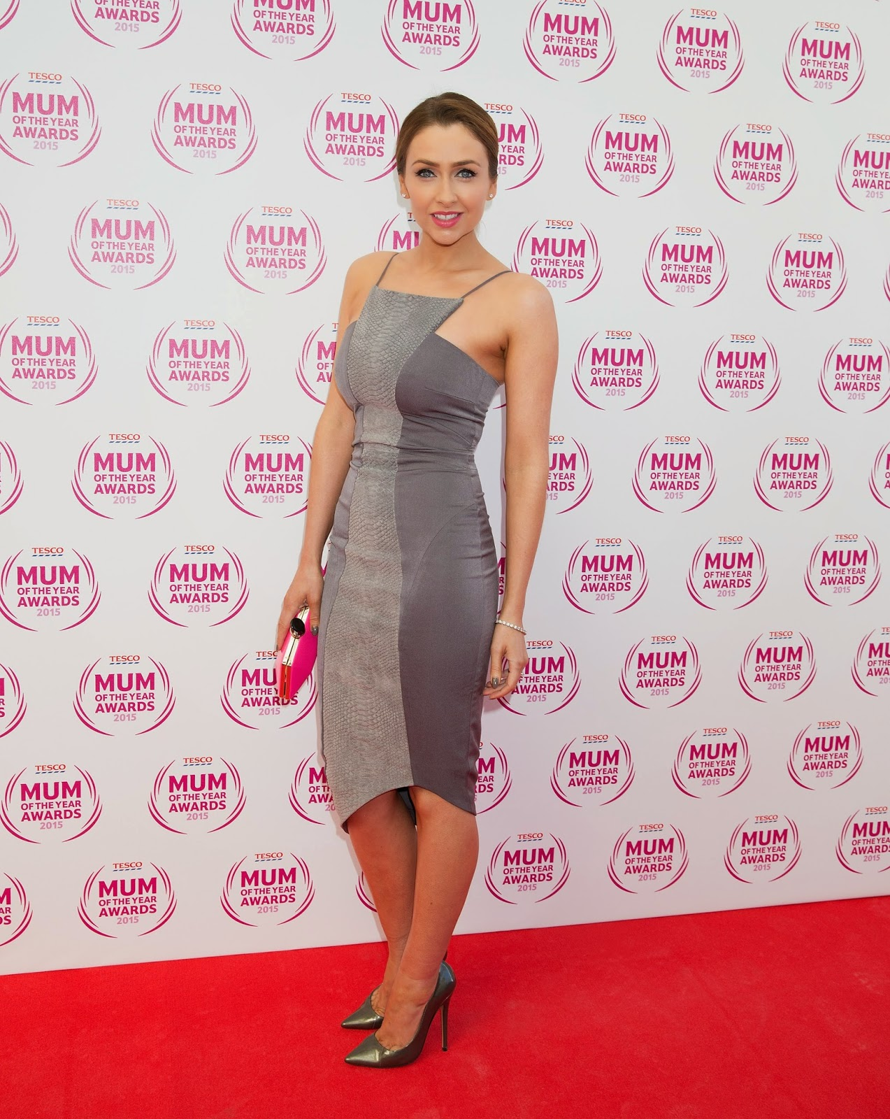 Actress, Model: Gemma Merna - Tesco Mum Of The Year Awards in London