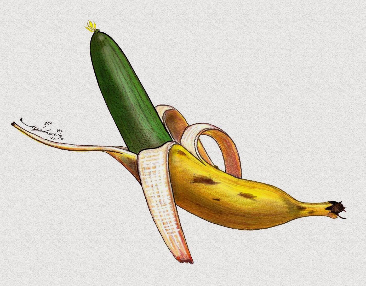 banana  mana  cucumber  father