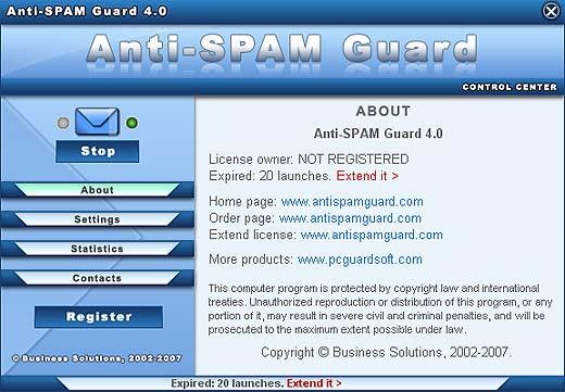 Anti Spam Programs
