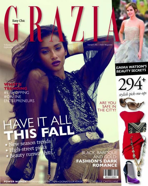 Nidhi Sunil Stunning photo shoot for Grazia cover -September 2012 issue