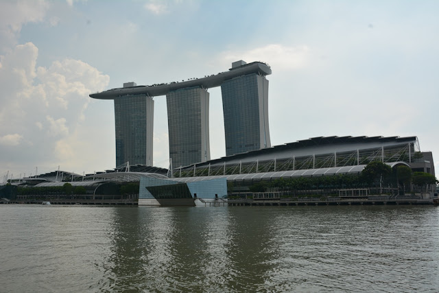 Modern Buildings Singapore Marina Bay Sands Hotel