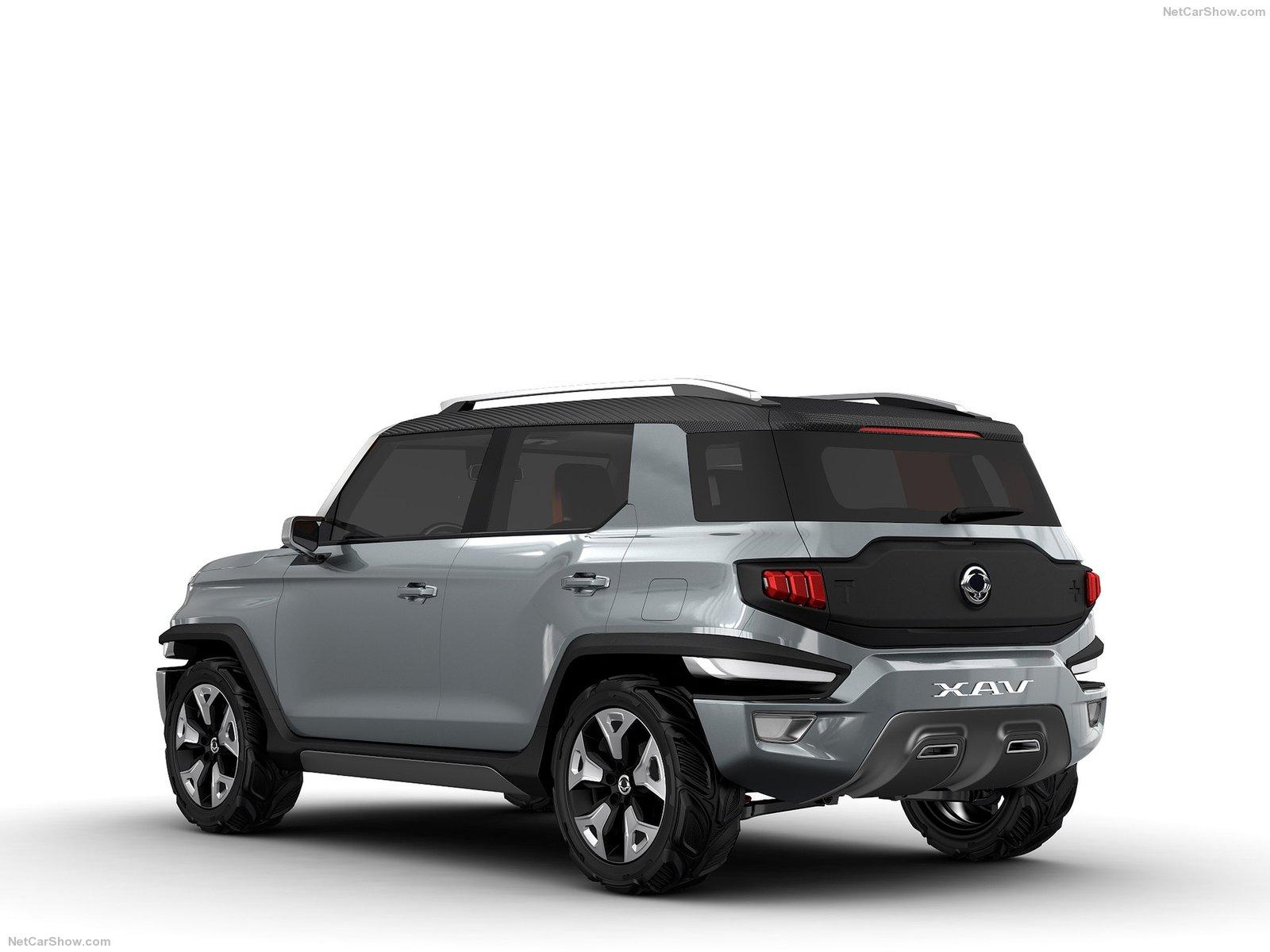 Hình ảnh xe ô tô SsangYong XAV-Adventure Concept 2015 & nội ngoại thất