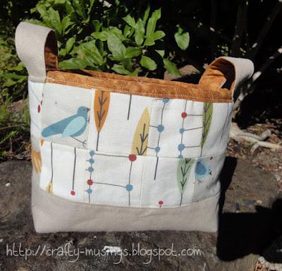 gift basket, front