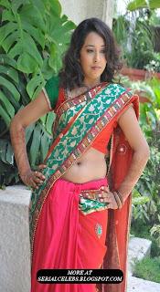 Zeba in Low hip saree