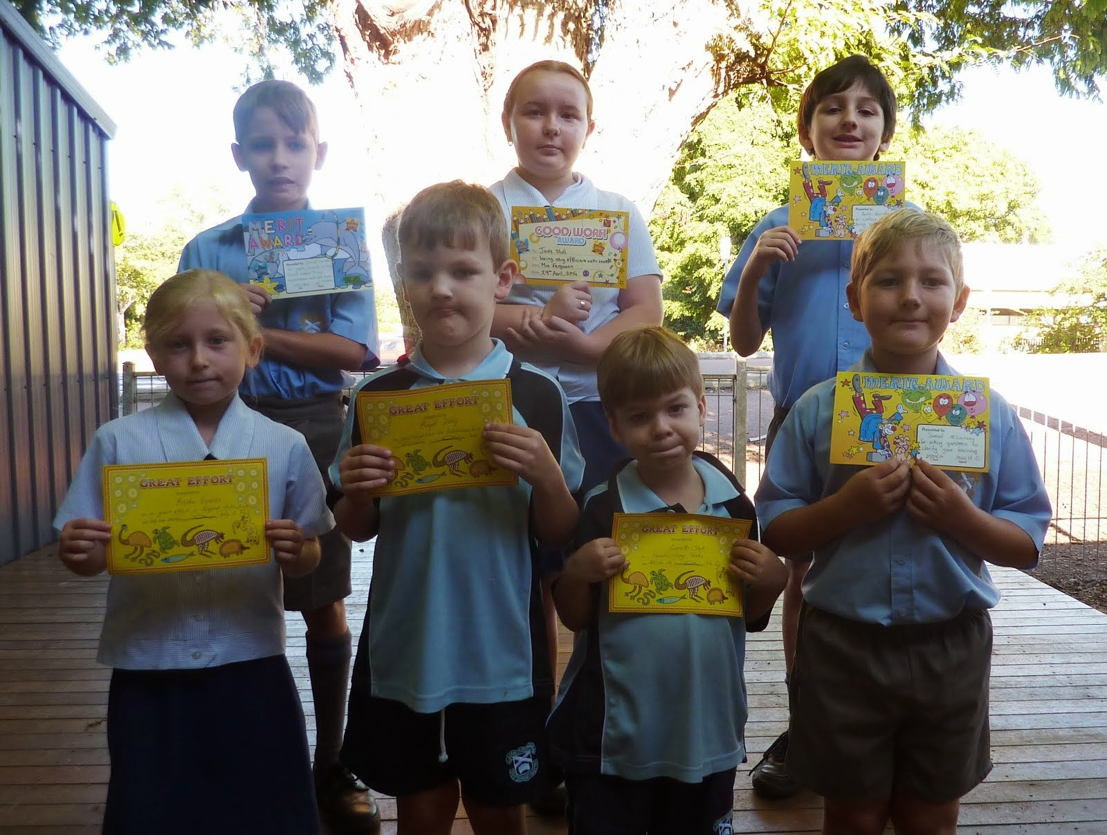 Junior School Award Recipients