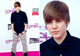 Red carpet justin bieber
