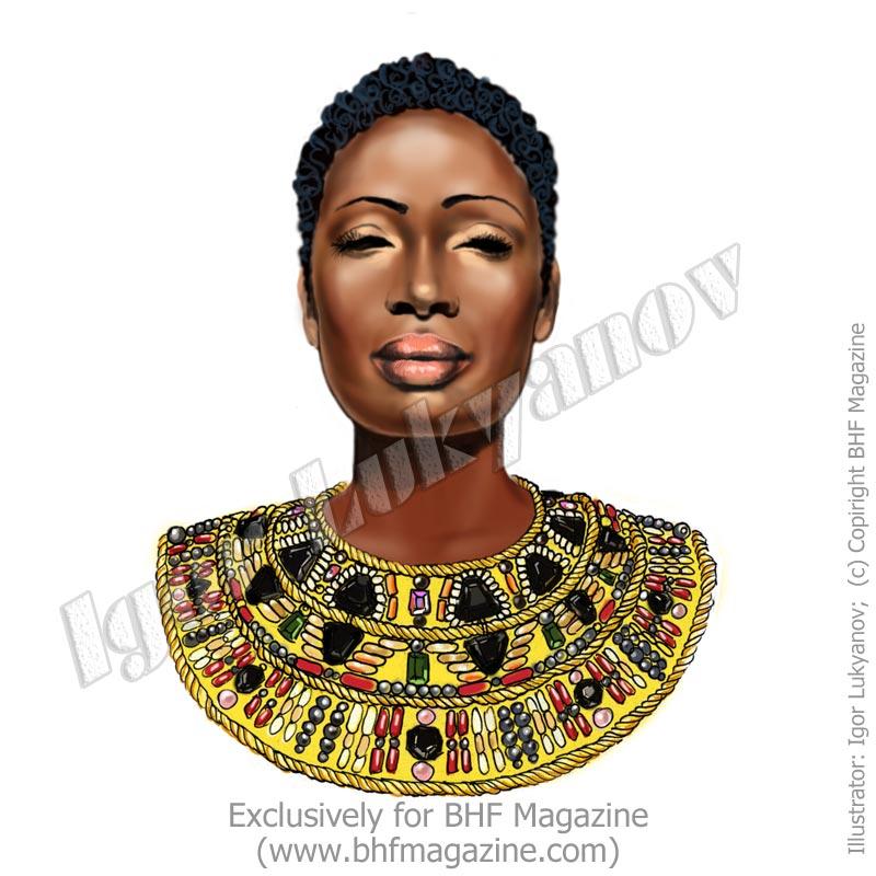 Dessins de mode africaine - Africaine dessin ...