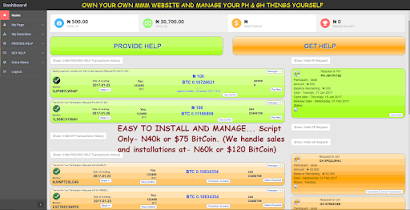 February 2017 MMM SCRIPT- Buy, Install & Customize Your Own MMM Script at 40k or $75 BitCoin