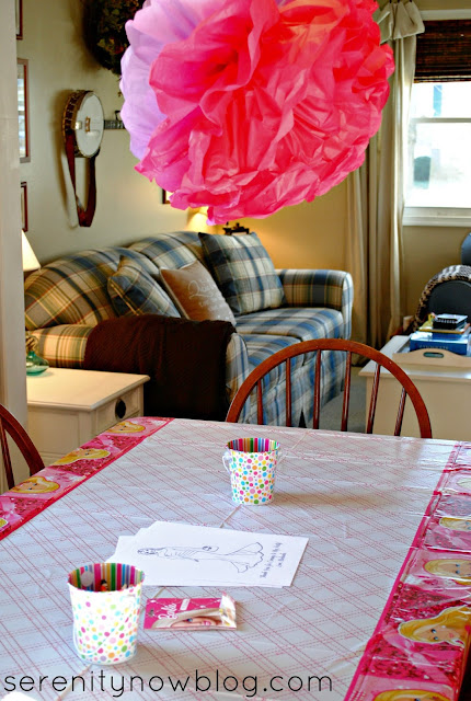 Barbie Birthday Party Ideas, from Serenity Now blog