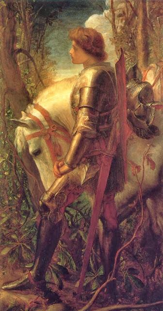 Sir Galahad,knight, medieval knights