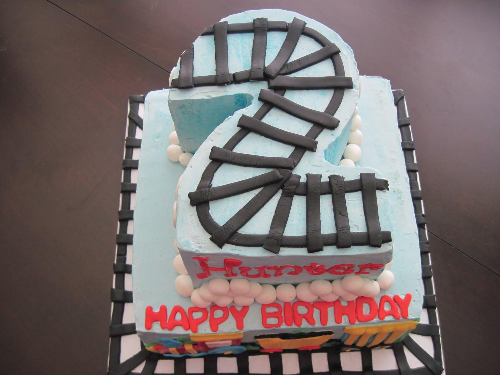 how to make a choo choo train birthday cake