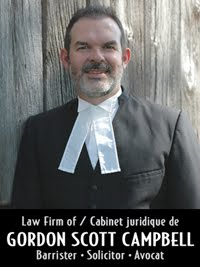Law Firm of Gordon Scott Campbell  Serving eastern Ontario