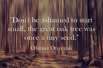 inspirational quote by Obinna Onyenali