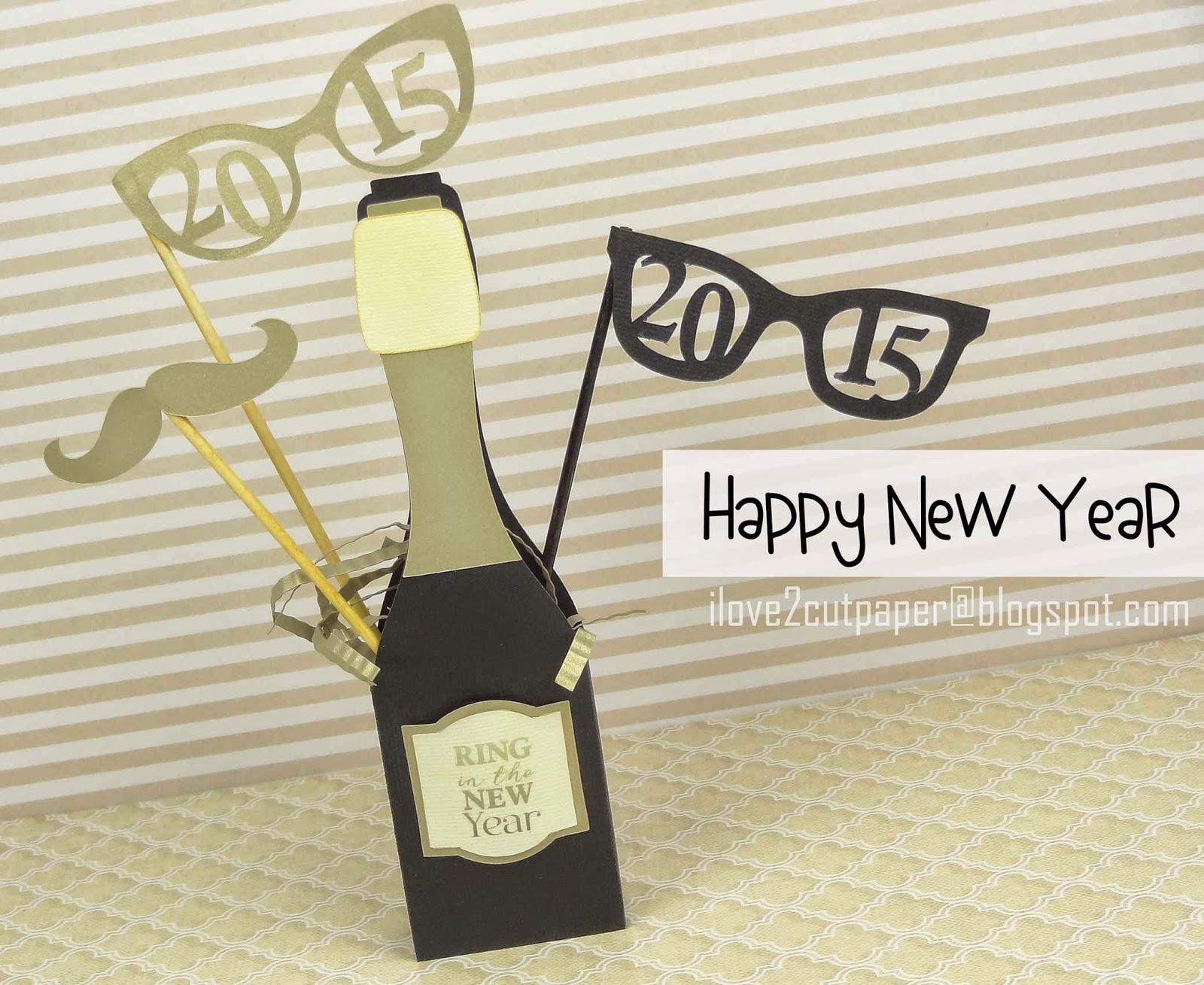 3D Champagne cutting file