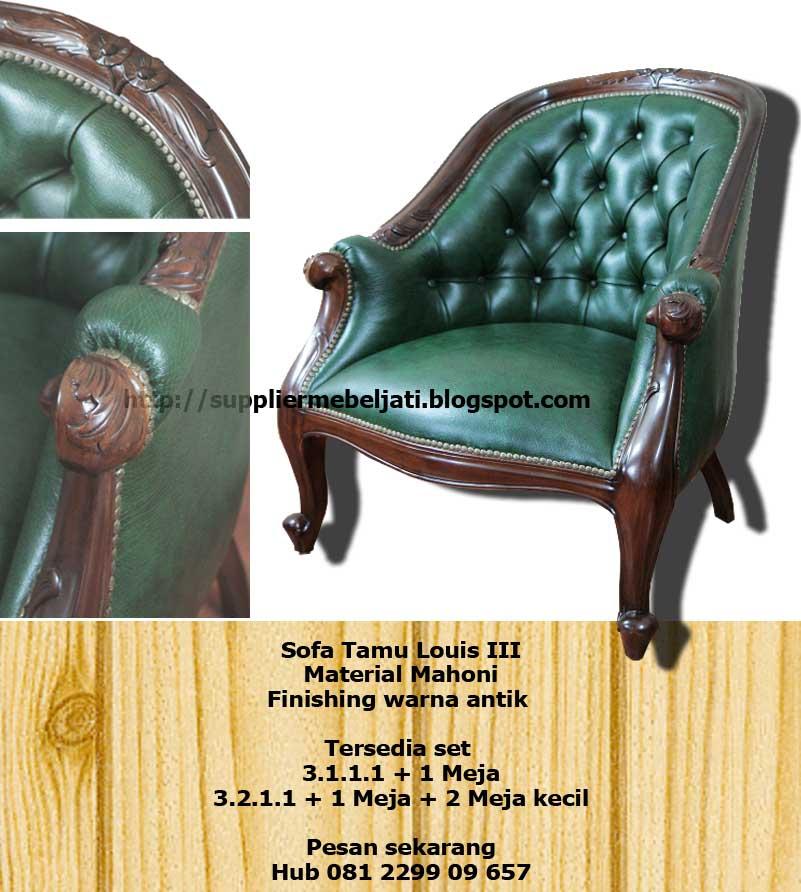 Louis Chair Indonesia Indoor Furniture Sofas