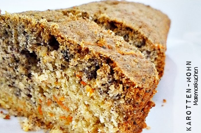Karotten-Mohn Marmorkuchen