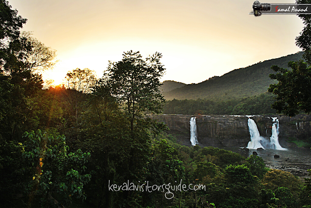athirappilly waterfalls, niagara of india, best view