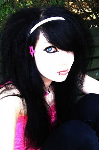 emo punk hairstyles layered