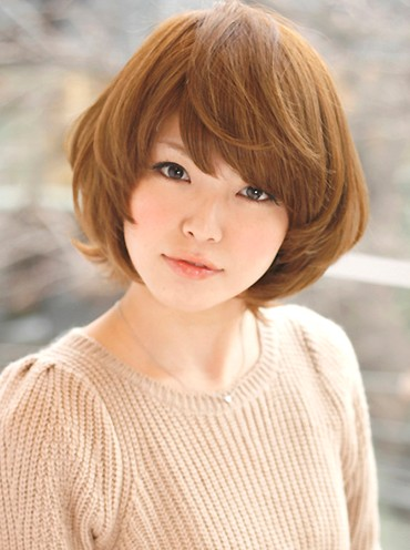 Wedding And Curly Hairstyles Cute Japanese Asian Short