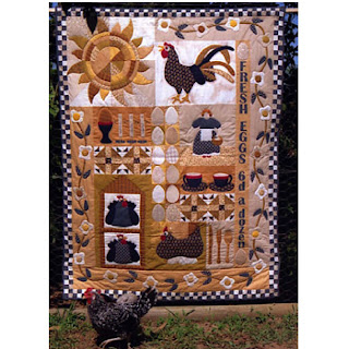 Lynette Anderson Designs EGGS FOR BREAKFAST Quilt Pattern