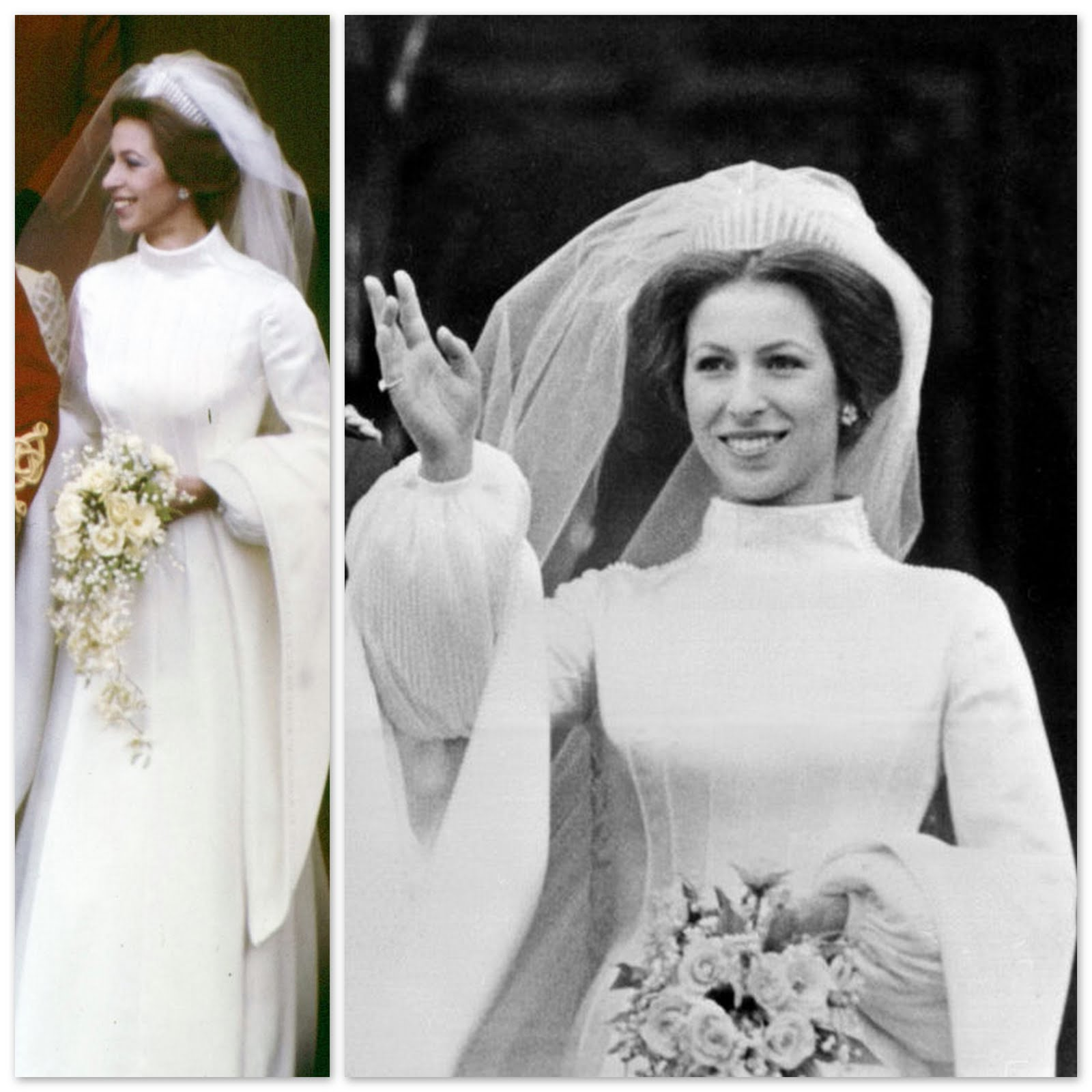 Princess Anne Wedding Dress Pictures : Princess anne the royal
