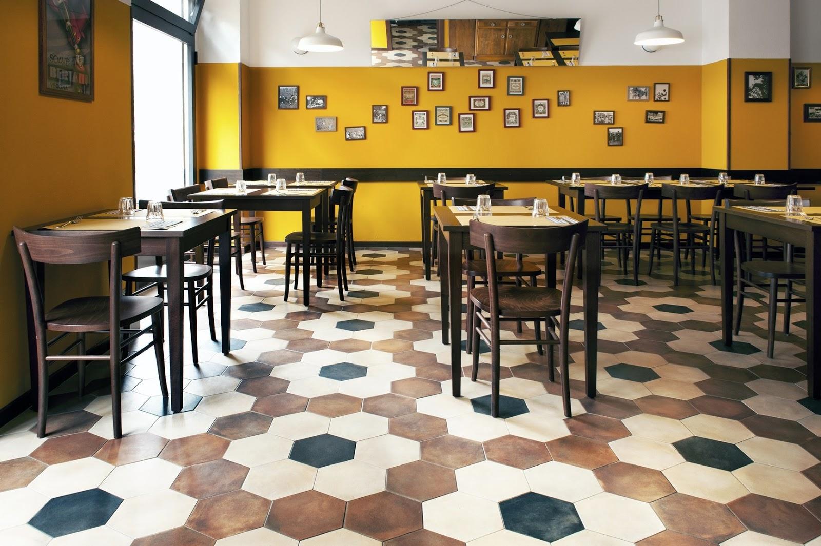 Fap ceramiche veste gli interni del ristorante trippa di for Design di interni milano
