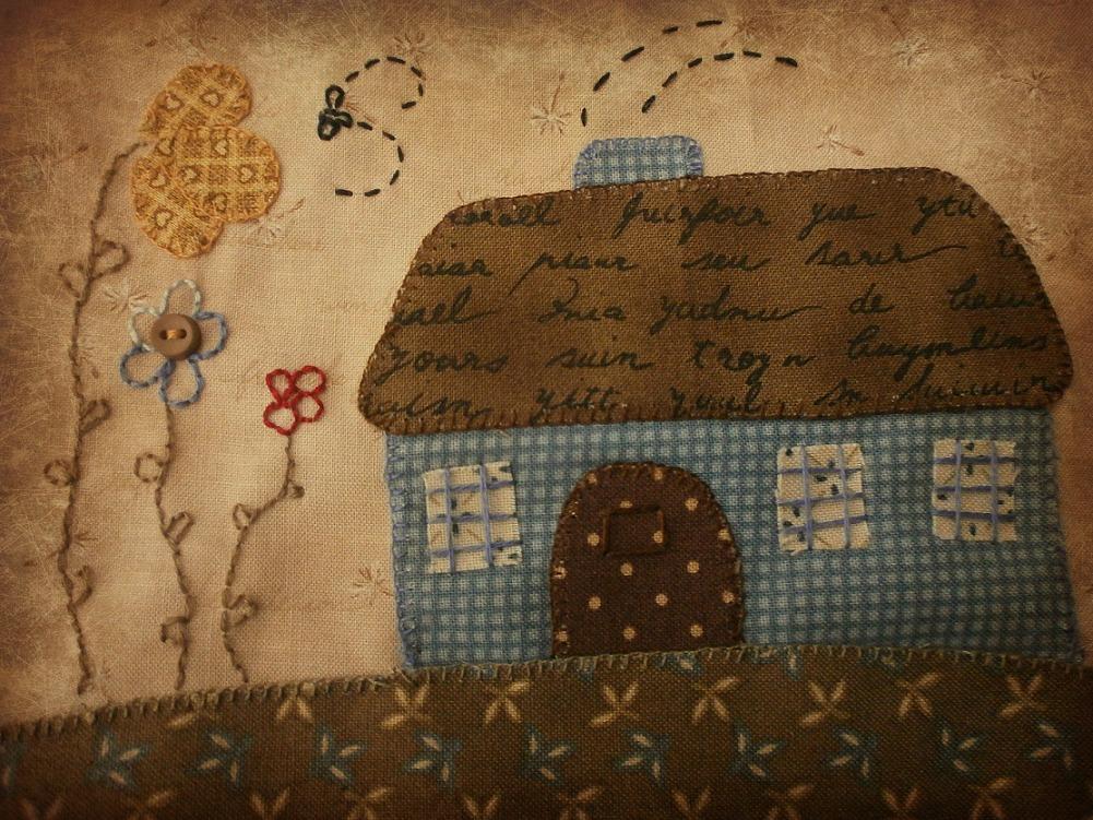 La casita de belinda proyecto de patchwork - Proyectos de patchwork ...