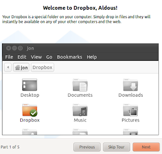 dropbox linux clients installation