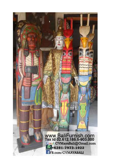 Native american indian crafts wood carvings bali crafts for American furniture catalog 2015