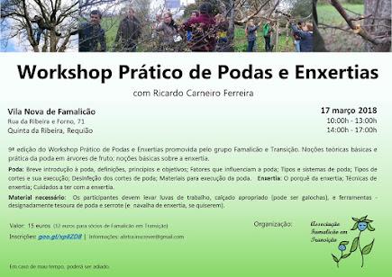Workshop  Podas e Enxertias