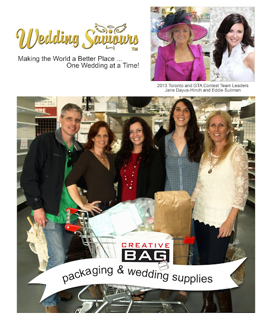 Wedding Saviour's Toronto and GTA 2013 Wedding Contest Winners at Creative Bag