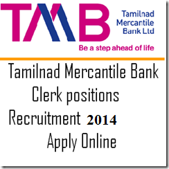 Clerk Jobs in TAMILNAD MERCANTILE BANK