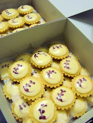 Untuk Tempahan : Blueberry Cheese Tart