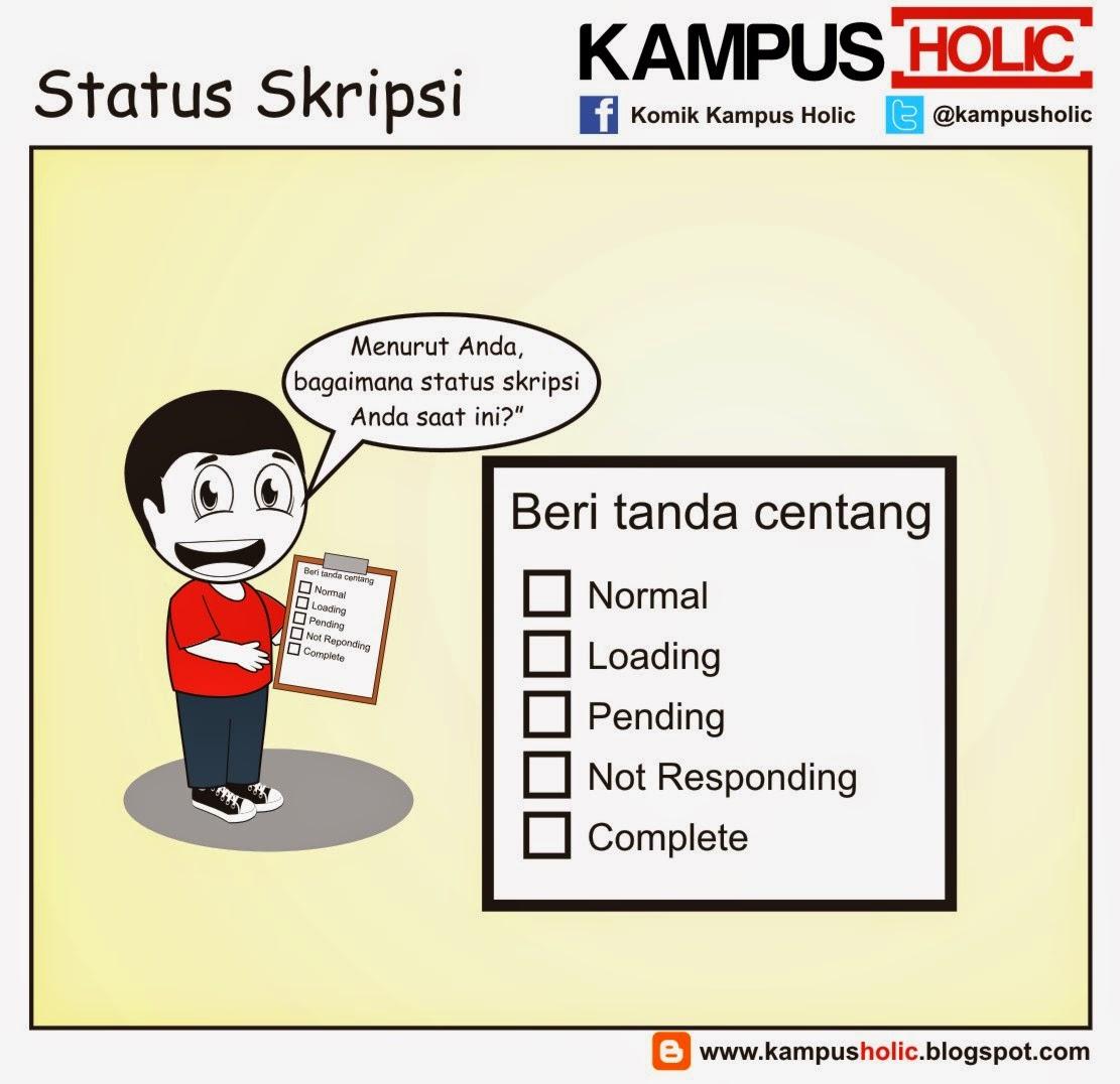 #681 Status Skripsi