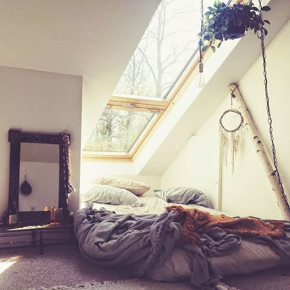 Moon to moon bohemian bedroom inspiration for Bedroom decor inspiration tumblr