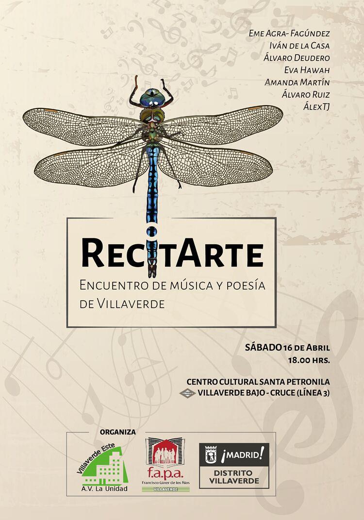 16 abril Recital en Villaverde