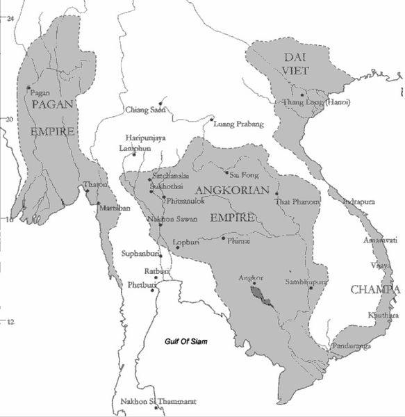 Peta Kerajaan Abbasiyah
